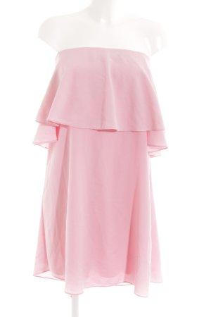 Zara Basic Cocktailkleid rosa schlichter Stil
