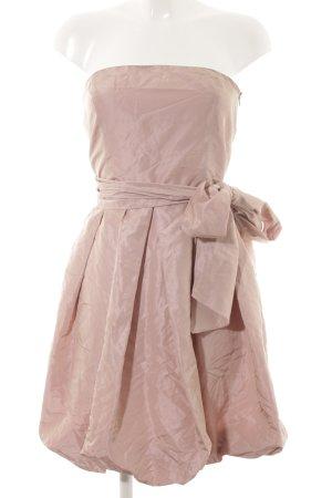 Zara Basic Cocktailkleid roségoldfarben extravaganter Stil