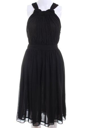 Zara Basic Cocktailkleid schwarz Elegant