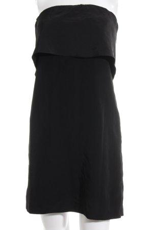 Zara Basic Cocktailkleid schwarz extravaganter Stil
