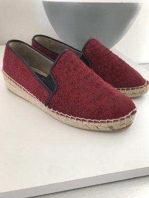 Zara Basic Collection Espandrilles Mokassins Rot 39 *1x getragen*