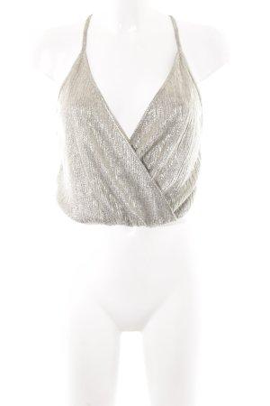 Zara Basic Cropped Top mehrfarbig Elegant
