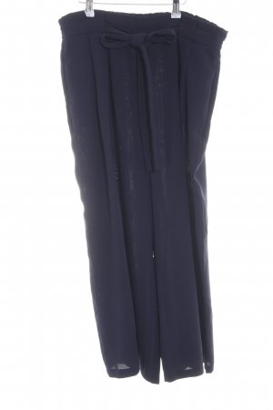 Zara Basic Culottes blau Casual-Look