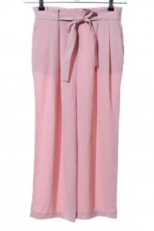 Zara Basic Culottes pink Casual-Look