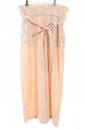 Zara Basic Pantalone culotte beige elegante