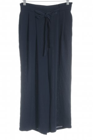 Zara Basic Culottes dunkelblau Casual-Look