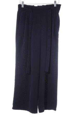 Zara Basic Culotte bleu foncé style mode des rues