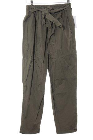 Zara Basic Pantalone culotte ocra elegante