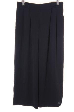 Zara Basic Culottes zwart zakelijke stijl