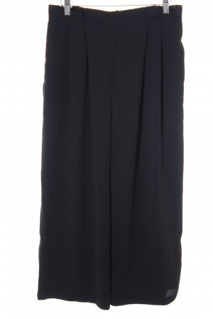 Zara Basic Culottes schwarz Business-Look