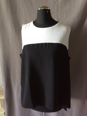 Zara Basic Damen Shirt Gr M schwarz weiß