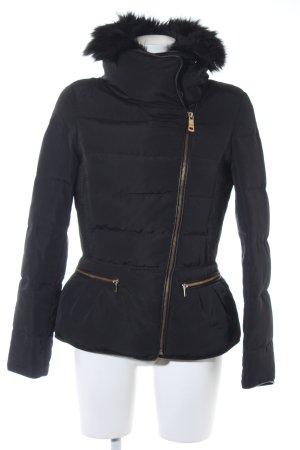 Zara Basic Doudoune noir style simple