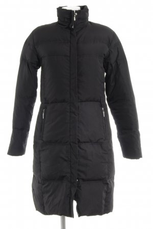Zara Basic Down Coat black casual look