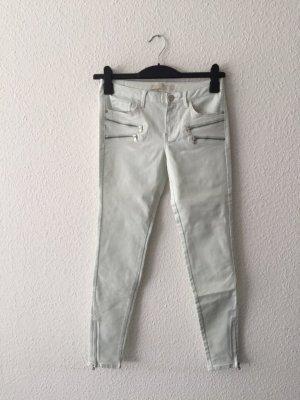 Zara Basic Denim Mint-Jeans 36