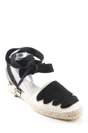 Zara Basic Espadrille sandalen veelkleurig Beach-look