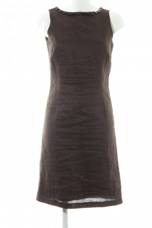 Zara Basic Etuikleid dunkelbraun Elegant