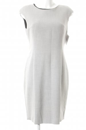 Zara Basic Etuikleid hellgrau meliert Business-Look
