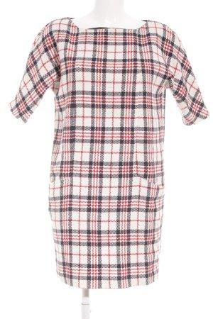 Zara Basic Etuikleid Karomuster 40ies-Stil