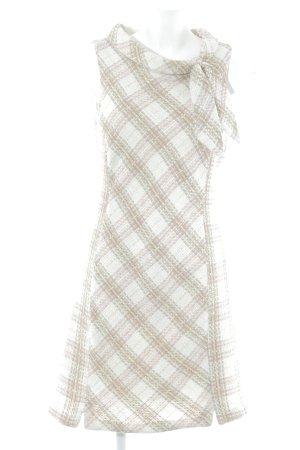 Zara Basic Etuikleid Karomuster klassischer Stil
