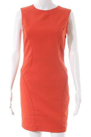 Zara Basic Etuikleid rot Elegant