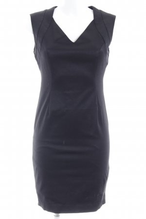 Zara Basic Etuikleid schwarz Business-Look