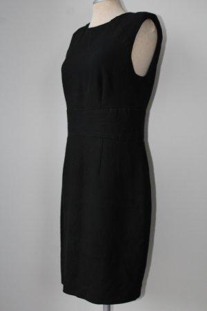 Zara basic Etuikleid schwarz Winterkleid Gr. 40 M L Kleid kurz knielang