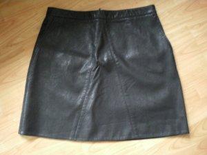 Zara Basic Fake-Lederrock in der Gr. L ungetragen ******