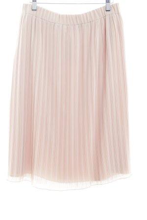 Zara Basic Plaid Skirt nude polyester