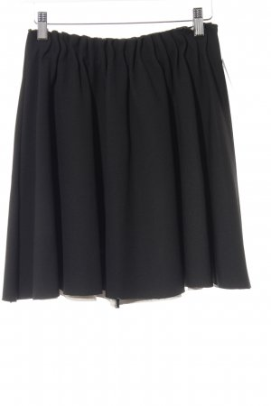 Zara Basic Gonna a pieghe nero elegante