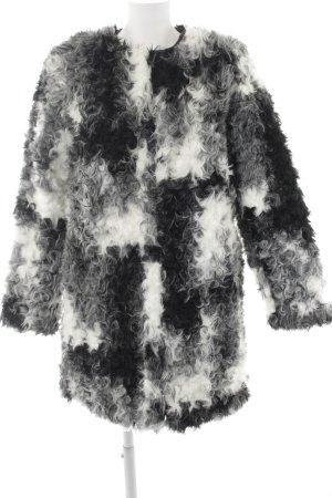 Zara Basic Fur Jacket allover print fluffy