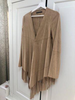 Zara Basic Fransenjacke
