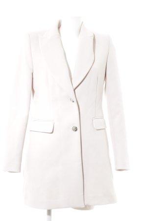 Zara Basic Frock Coat pink business style