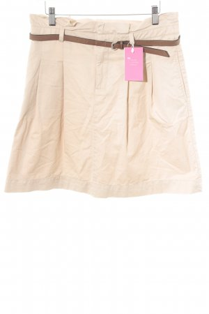 Zara Basic Glockenrock beige Business-Look