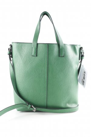 Zara Basic Handtasche waldgrün Casual-Look