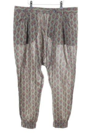 Zara Basic Pantalón estilo Harem estampado con diseño abstracto look casual