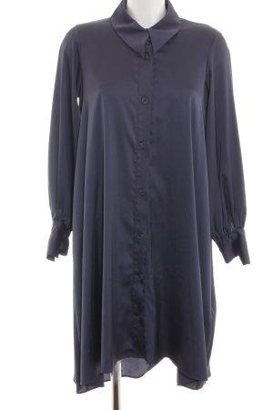Zara Basic Shirtwaist dress blue business style