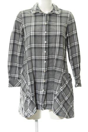 Zara Basic Robe chemise motif Prince de Galles style décontracté