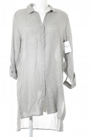 Zara Basic Shirtwaist dress light grey casual look