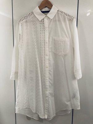 Zara Basic - Hemdblusenkleid mit Stickerei