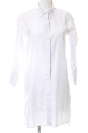 Zara Basic Shirtwaist dress white business style