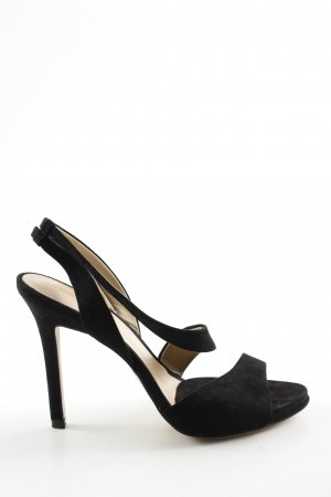 Zara Basic High Heel Sandaletten schwarz Business-Look