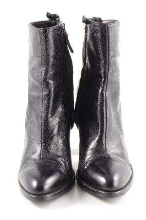 Zara Basic High Heel Sandaletten schwarz Business-Look