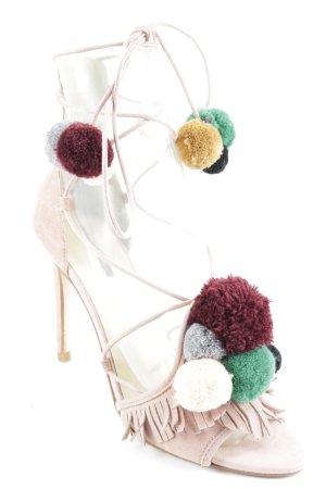 Zara Basic High Heel Sandal multicolored extravagant style