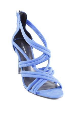"""Zara Basic High Heel Sandal """"t"""" blue"""