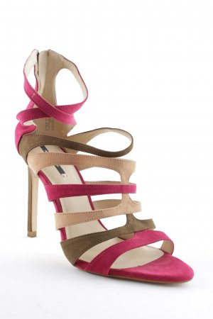 Zara Basic High Heels mehrfarbig Party-Look
