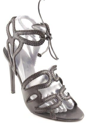 Zara Basic High Heels schwarz Party-Look