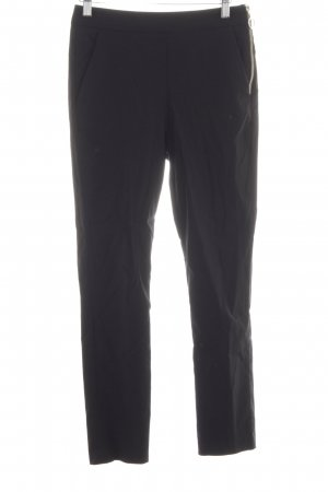 Zara Basic High-Waist Hose schwarz Business-Look