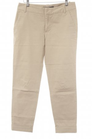 Zara Basic High Waist Trousers beige casual look
