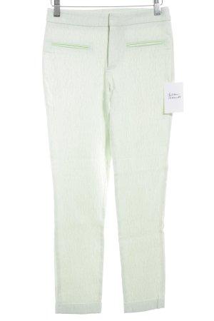 Zara Basic Pantalón de cintura alta verde pálido elegante