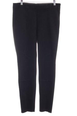 Zara Basic High Waist Trousers black classic style